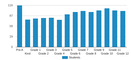 Atlanta International School Student By Grade