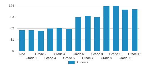 Pace Academy Student By Grade