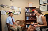 The Counseling Center provides great support and guidance for the entire study population.