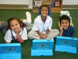 St. John's has a 1:1 technology program in Preschool through 8th grade. Our Preschool, Kindergarten and 1st grade use iPads, and 2nd through 8th grade use Chromebooks.