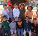 Our Preschoolers at the pumpkin patch