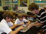 Hands on, project-based learning.