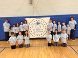 Students participate in a service project to benefit Kelleigh's Cause Foundation!  Our students raised $300 for the cause!