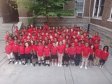 The students of St. Andrew's School and our historic, 1901 building in the Oregon Hill section of Richmond, VA.