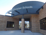Our new state-of-the-art building for Elementary and Middle School Students.