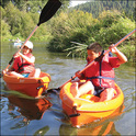 The school's Outdoor Club gets students active kayaking, rock climbing, and exploring the wonders of nature.