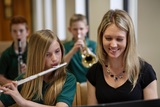Each student at St. Luke's has the unique opportunity to learn the skills necessary for life-long enjoyment of music. Our instrumental ensembles and choirs perform at school concerts, church worship services and outreach events.