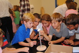 Fourth grade in the STEM lab