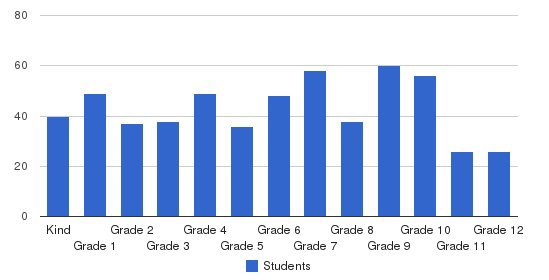 City Baptist Schools Students by Grade