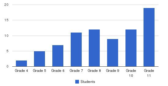 High SchoolRoad Academy Students by Grade