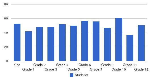 Academy Of Notre Dame Elementary School Students by Grade