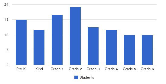 Hellenic American Academy Students by Grade
