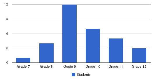 Meadowridge Behavioral Health Center Students by Grade