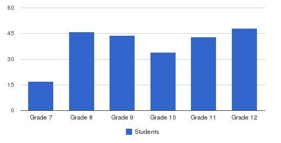 Mt Alvernia High School Students by Grade
