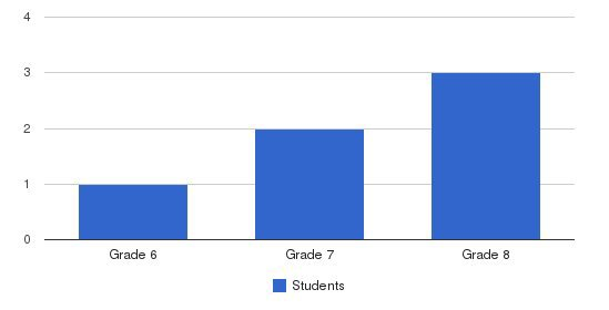 Southeast Alternative School-middle School Students by Grade