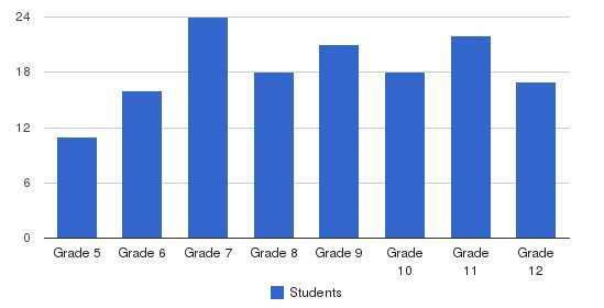 Bridges Academy Students by Grade