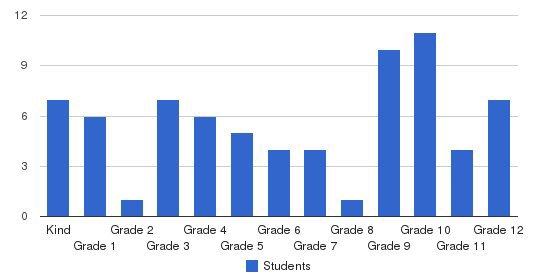 The Brighten School & Arts Academy Students by Grade