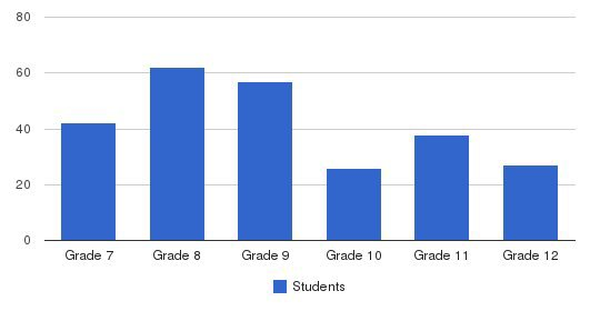 Our Lady Academy Students by Grade