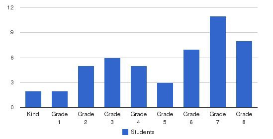 The Education Academy Students by Grade