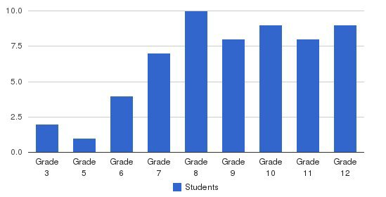 Woodcliff Academy Students by Grade