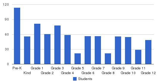Bnos Chayil Students by Grade