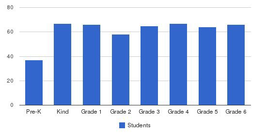 Curtis School Foundation Students by Grade