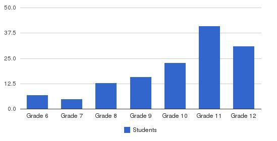Houghton Academy Students by Grade