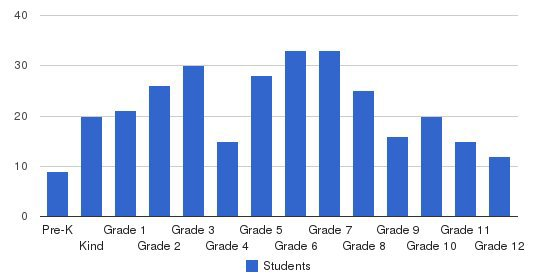 Razi School Students by Grade