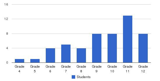 Manus Academy Students by Grade