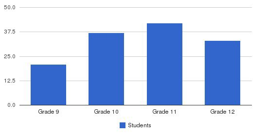 Fletcher Academy Students by Grade