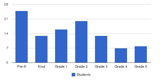 Charisma Academy Students by Grade