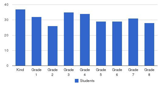 St Nicholas Academy Students by Grade