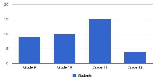 Goodwill High School Students by Grade