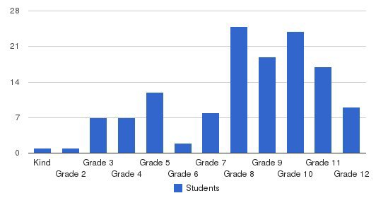The Watson Institute Friendship Academy Students by Grade