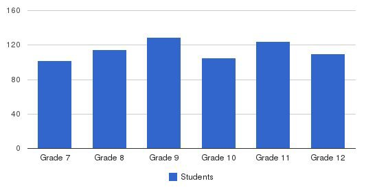 York Catholic High School Students by Grade