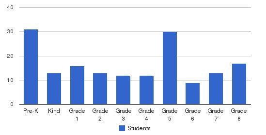 Cambridge Academy Students by Grade