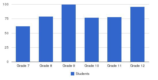 Cardinal Newman School Students by Grade