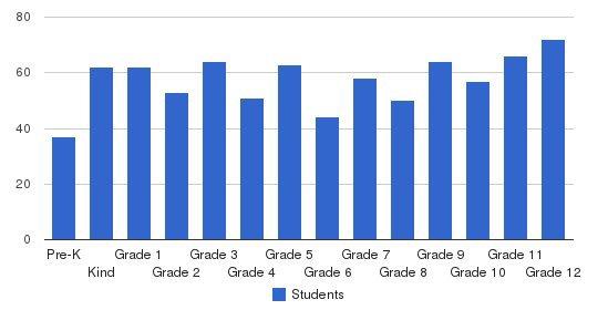 Orangeburg Preparatory School Students by Grade