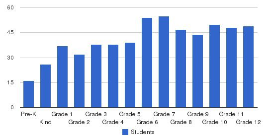 McKinney Christian Academy Students by Grade