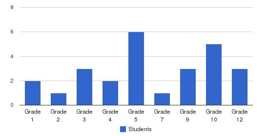 Massanova Christian Academy Students by Grade