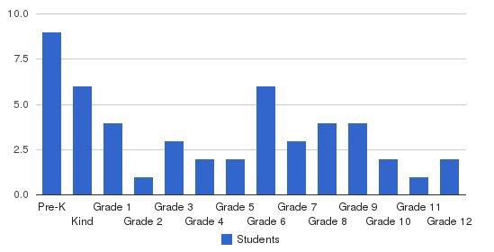 Academy Schools Students by Grade