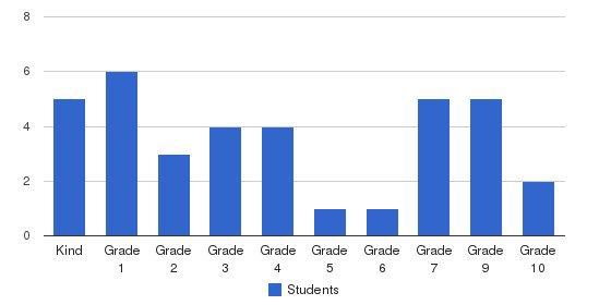 Calvary Apostolic Academy Students by Grade