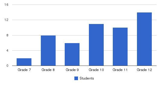 Nawa Academy Students by Grade