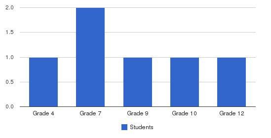 Tijay Renee Academy Students by Grade