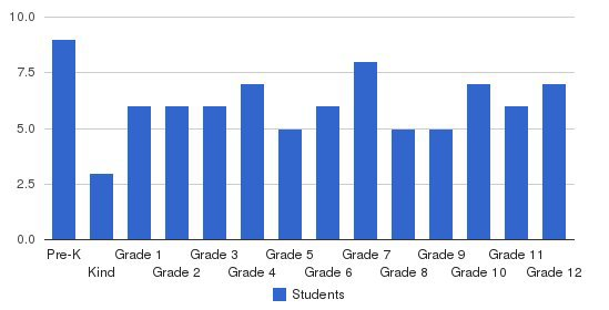 Summit Academy Students by Grade