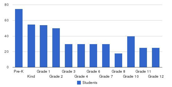 Talmud Torah Dnitra Students by Grade
