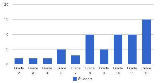 Rutherford Academy Students by Grade
