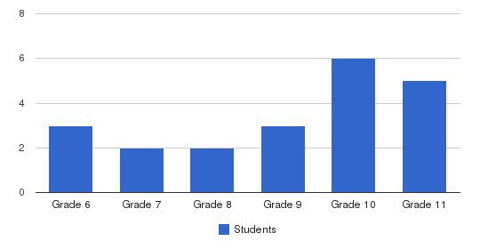 Mount Snow Academy Students by Grade