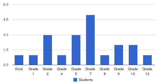 Anath Christian Academy Students by Grade