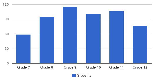 Palma High School Students by Grade